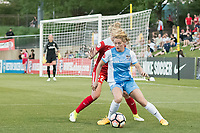 Boyds, MD - Saturday June 03, 2017:  Kealia Ohai, Alyssa Kleiner during a regular season National Women's Soccer League (NWSL) match between the Washington Spirit and the Houston Dash at Maureen Hendricks Field, Maryland SoccerPlex