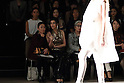 Norika Fujiwara attends Tae Ashida Fashion Show 2017 S/S Amazon Fashion Week Tokyo at Tokyo Japan on 17 Oct 2016. (Photo by Motoo Naka/AFLO)