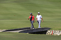 Pablo Larrazabal (ESP) and Ryan Fox (NZL) in action on the 6th during Round 4 of the Maybank Championship at the Saujana Golf and Country Club in Kuala Lumpur on Saturday 4th February 2018.<br /> Picture:  Thos Caffrey / www.golffile.ie<br /> <br /> All photo usage must carry mandatory copyright credit (&copy; Golffile | Thos Caffrey)