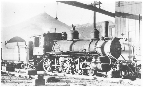 Engine #172 in yard at Salida, CO.<br /> D&amp;RGW  Salida, CO  Taken by Perry, Otto C. - 9/20/1936