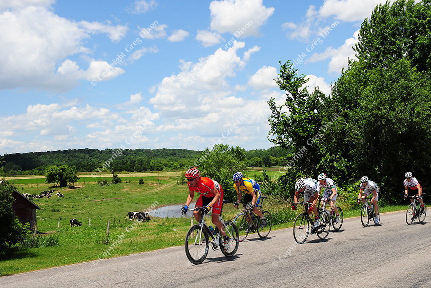 The cycling road race of Badger State Games takes place outside of Marshall over the weekend on Saturday, June 21, 2008. The summer games have taken place in the Madison area since 1985. Next year, the games will relocate to the Fox River Valley and be centered in Appleton.