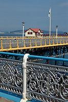 Großbritannien, Wales, Swansea, Pier von Mumbles