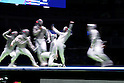 Ambiance shot, AUGUST 10, 2016 - Fencing : Men's Sabre Individual Round of 32 at Carioca Arena 3 during the Rio 2016 Olympic Games in Rio de Janeiro, Brazil. <br /> (Photo by Koji Aoki/AFLO SPORT)