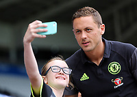 Nemanja Matic of Chelsea arrives prior to the Premier League match between Swansea City and Chelsea at The Liberty Stadium on September 11, 2016 in Swansea, Wales.