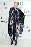 Gwendoline Christie arriving for the Elle Style Awards 2015, at The Sky Garden, London. 24/02/2015 Picture by: Alexandra Glen / Featureflash
