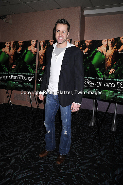 """John Driscoll.at a special screening of """"The Other Boleyn Girl"""" on .February 26, 2008 at The Regal 64th and 2nd Avenue in .New York City. .Robin Platzer, Twin Images..212-935-0770"""