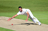 PICTURE BY VAUGHN RIDLEY/SWPIX.COM - Cricket - County Championship Div 2 - Yorkshire v Kent, Day 1 - Headingley, Leeds, England - 05/04/12 - Yorkshire's Ajmal Shahzad.