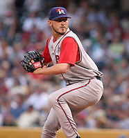 Round Rock Express Chris Baker during the Triple-A All-Star Game at Fifth Third Field on July 12, 2006 in Toledo, Ohio.  (Mike Janes/Four Seam Images)