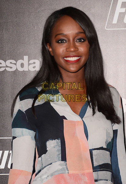 05 November - Los Angeles, Ca - Aja Naomi King. Arrivals for the official launch party of the video game &quot;Fallout 4&quot; held at a private location in Downtown LA.  <br /> CAP/ADM/BT<br /> &copy;BT/ADM/Capital Pictures