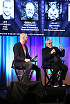 Lee Seymour and Charlie Flateman on stage during Broadwaycon at New York Hilton Midtown on January 11, 2019 in New York City.