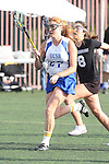 Santa Barbara, CA 02/18/12 - Lindsay Alex (UCSB #27) in action during the UCSB-Washington matchup at the 2012 Santa Barbara Shootout.  UCSB defeated Washington