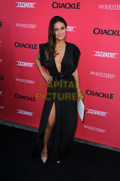 WEST HOLLYWOOD, CA - August 14: Emmanuelle Chriqui at the Crackle Summer Premieres of 'Sequestered' and 'Cleaners' 1 OAK L.A, West Hollywood,  August 14, 2014. <br /> CAP/MPI/JO<br /> &copy;JO/MPI/Capital Pictures