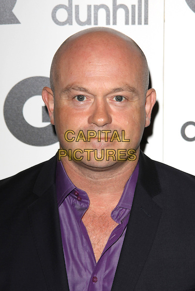 ROSS KEMP.Attending the GQ Men Of The Year Awards 2009 held at the Royal Opera House, Covent Garden, London, England, UK, September 8th 2009..arrivals portrait headshot purple shirt hairy chest.CAP/AH.©Adam Houghton/Capital Pictures.