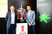 Picture by Simon Wilkinson/SWpix.com - 30/04/2019 - Rugby League RLWC2021 - Deloitte Partnership Deloitte Offices Manchester Kevin Sinfield