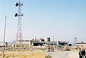 Irak 2000. La station de pompage de Deraboun en territoire kurde.   Iraq 2000. Pumping station of Deraboun in Kurdish territory.