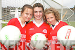 CHAMPIONS:The Kilgarvan National School Skills Team that won the overall team award at  Kerry Primary Schools Girls Skills Finals in Fitzgerald Stadium Killarney on Friday last..L/r. Linda Twomey, Saoirse Finnessy and Katie Harrington.   Copyright Kerry's Eye 2008