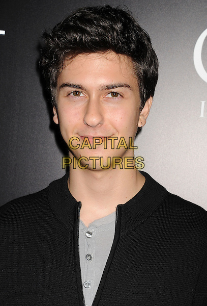 Nat Wolff<br /> &quot;Carrie&quot; Los Angeles Premiere held at Arclight Cinemas, Hollywood, California, USA.<br /> October 7th, 2013<br /> headshot portrait black grey gray top<br /> CAP/ROT/TM<br /> &copy;Tony Michaels/Roth Stock/Capital Pictures