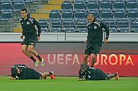 23.10.2013: Eintracht Frankfurt Abschlusstraining