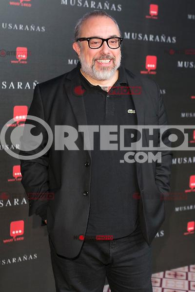"Alex de la Iglesia attend the Premiere of the movie ""Musaranas"" in Madrid, Spain. December 17, 2014. (ALTERPHOTOS/Carlos Dafonte) /NortePhoto /NortePhoto.com"