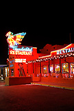 USA, Utah, the Thunderbird Restaurant in Mount Carmel