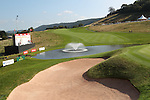 ISPS Handa Wales Open<br /> General view of the 18th green on the Twenty Ten golf course.<br /> Celtic Manor Resort<br /> 21.09.14<br /> &copy;Steve Pope-SPORTINGWALES