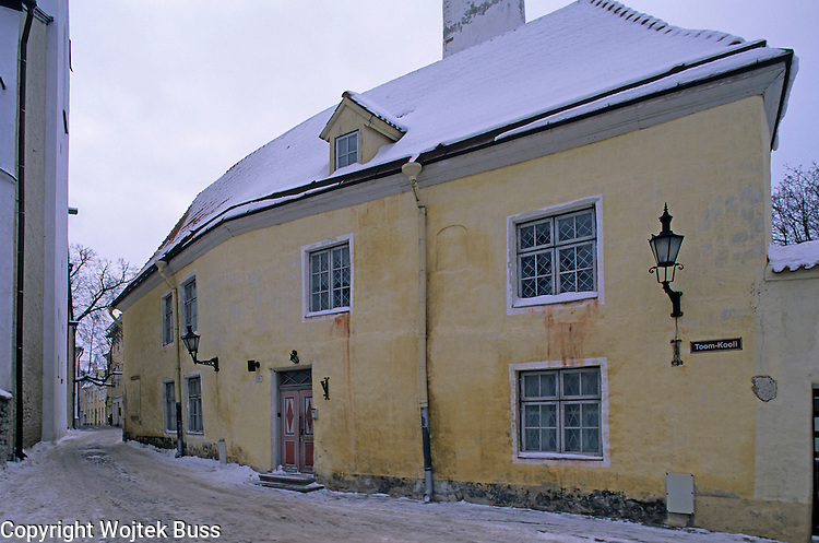 Estonia,Tallinn,Toompea,Upper Town,Europe,Travel,winter