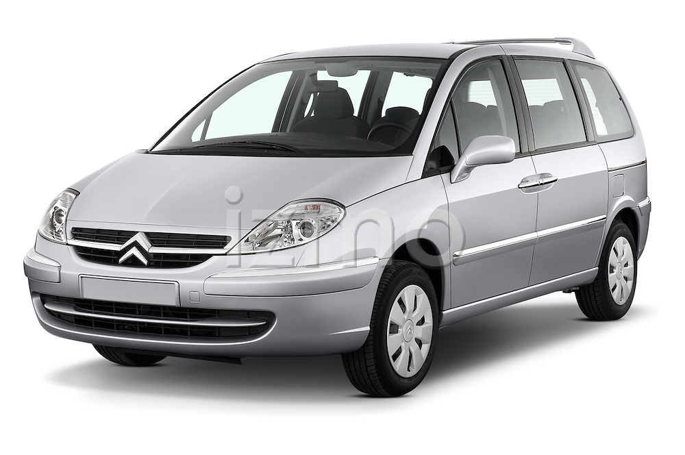Front three quarter view of a 2002 - 2014 Citroen C8 Airplay Minivan.