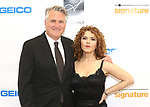 Eric Schaeffer and Bernadette Peters attends the 2017 Sondheim Award Gala at the Italian Embassy on March 20, 2017 in Washington, D.C..