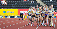Photo: Tony Oudot/Richard Lane Photography..Aviva London Grand Prix. 25/07/2009. .women's 3000m Under 20. .