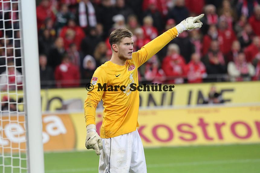 Loris Karius (Mainz)  - 1. FSV Mainz 05 vs. Eintracht Frankfurt, Coface Arena, 12. Spieltag