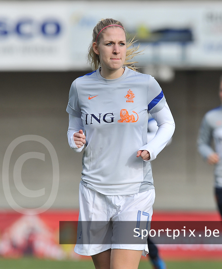 Belgium - The Netherlands : Kelly Zeeman.foto DAVID CATRY / Vrouwenteam.be