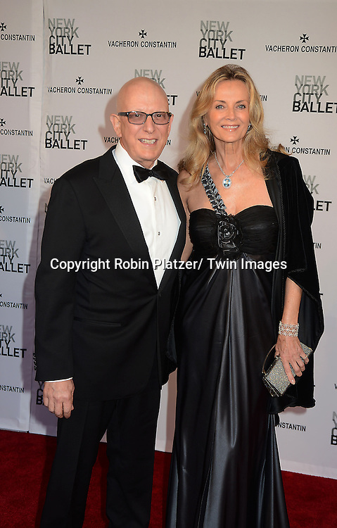 David Adler and Bonnie Pfeifer Evans attends the New York City Ballet Spring 2013  Gala on May 8, 2013 at The David H Koch Theater in LIncoln Center in New York City.