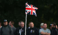 Pinflag on the 16th during the Final Round of the British Masters 2015 supported by SkySports played on the Marquess Course at Woburn Golf Club, Little Brickhill, Milton Keynes, England.  11/10/2015. Picture: Golffile | David Lloyd<br /> <br /> All photos usage must carry mandatory copyright credit (&copy; Golffile | David Lloyd)