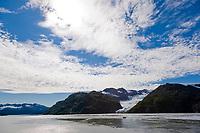 Tigertail Glacier, Nassau fjord, Prince William Sound, Alaska.
