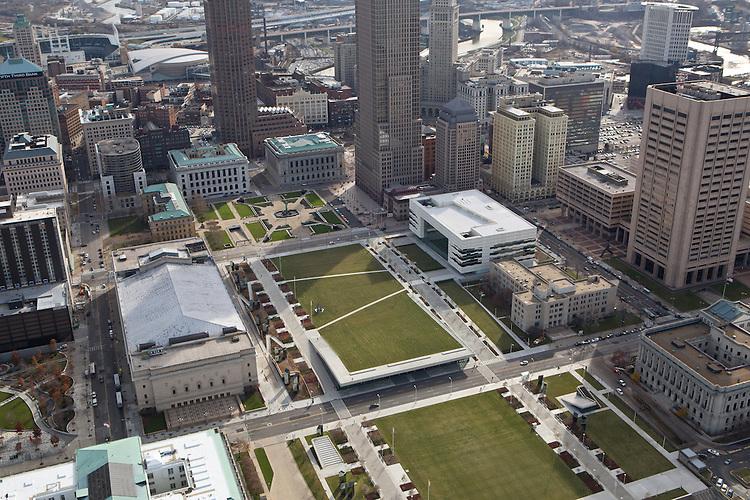 Cleveland Convention Center Aerials   LMN Architects