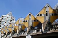 Kubuswoningen van de architect Piet Blom in Rotterdam