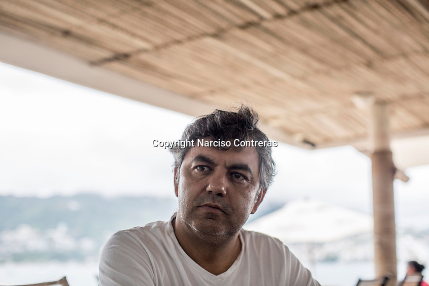 "June 16, 2018: A business owner Erick de Santiago, founder of ""Habla bien de Acapulco"" NGO, a businessmen initiative aiming to restore the once-glamorous resort image of Acapulco, damaged by murdering and crime perpetrated by drug cartels and violence."