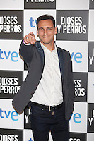 Ricard Salas poses at `Dioses y perros´ film premiere photocall in Madrid, Spain. October 07, 2014. (ALTERPHOTOS/Victor Blanco) /nortephoto.com