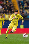 Leo Suarez of Villarreal CF in action during their Copa del Rey 2016-17 match between Villarreal CF and CD Toledo at the Estadio El Madrigal on 20 December 2016 in Villarreal, Spain. Photo by Maria Jose Segovia Carmona / Power Sport Images