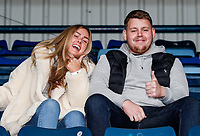 Fleetwood Town supporters enjoying the pre-match atmosphere<br /> <br /> Photographer Andrew Kearns/CameraSport<br /> <br /> The EFL Sky Bet League One - Wycombe Wanderers v Fleetwood Town - Saturday 4th May 2019 - Adams Park - Wycombe<br /> <br /> World Copyright © 2019 CameraSport. All rights reserved. 43 Linden Ave. Countesthorpe. Leicester. England. LE8 5PG - Tel: +44 (0) 116 277 4147 - admin@camerasport.com - www.camerasport.com