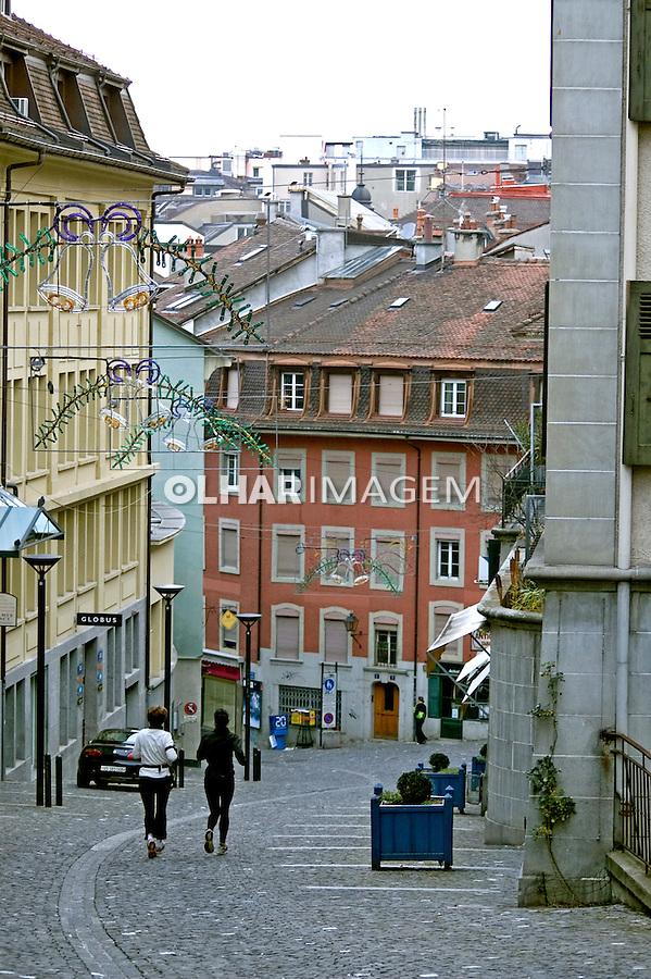 Cidade de Lausane. Suiça. 2008. Foto de Cris Berger.