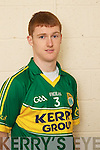 David Culhane member of the Kerry U-21 panel 2012