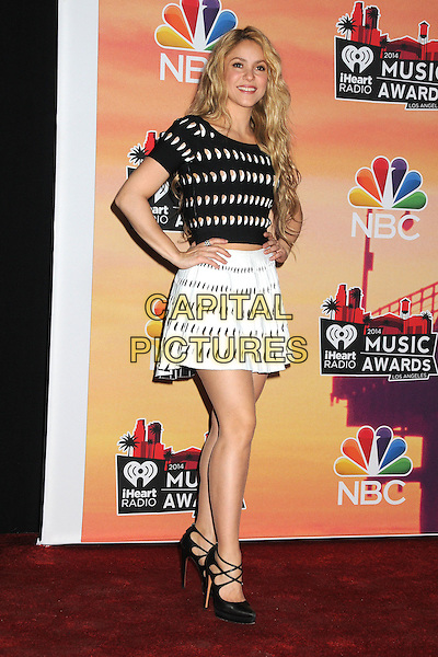 01 May 2014 - Los Angeles, California - Shakira. iHeartRadio Music Awards 2014 - Press Room held at The Shrine Auditorium.  <br /> CAP/ADM/BP<br /> &copy;Byron Purvis/AdMedia/Capital Pictures