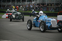 Goodwood Revival, 2007.The Goodwood revival is one of the largest historic car races events in the world; 3 days of racing at the highest level with some of the best pilots past and present driving historically important cars to the limit...and sometimes beyond! 110 000 spectators and participants gather in period costumes for a unique event.