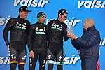 Bora-Hansgrohe leading team at the end of Stage 5 of the 2019 Giro d'Italia, running 140km from Frascati to Terracina, Italy. 15th May 2019<br /> Picture: Gian Mattia D'Alberto/LaPresse | Cyclefile<br /> <br /> All photos usage must carry mandatory copyright credit (© Cyclefile | Gian Mattia D'Alberto/LaPresse)