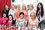 Party Girls<br /> --------------<br /> Bride Kennedy from Anascaul, seated 2nd Rt, celebrated her birthday with friends and family in the Denny Lane Bistro, Tralee last Sunday night, seated L-R Carmel Lyons, maura Maunsell, Bride Kennedy and Abbie McCarthy, back L-R Claire&amp;Eileen O'Connor, Eileen Maunsell, Gillian McCarthy, Joan Maunsell and Niamh Kennedy.