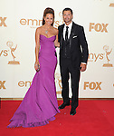 Brooke Burke and David Charvet at The 63rd Anual Primetime Emmy Awards held at Nokia Theatre L.A. Live in Los Angeles, California on September  18,2011                                                                   Copyright 2011Debbie VanStory / iPhotoLive.com