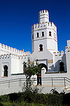 Public library building, Plaza de Santa Maria, Tarifa, Cadiz province, Spain