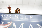 GOP Presidential candidate Rep. Michele Bachmann speaks at a town hall event in Marshalltown, Iowa, July 23, 2011.