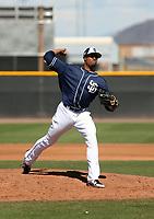 Reggie Lawson - San Diego Padres 2019 spring training (Bill Mitchell)